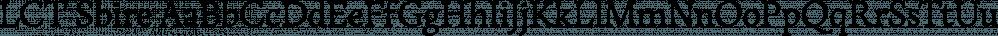 LCT Sbire font family by La Casse Typographique