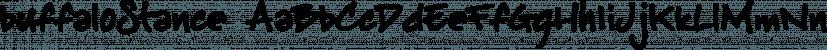 buffaloStance font family by JOEBOB Graphics