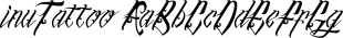 inuTattoo font family mini