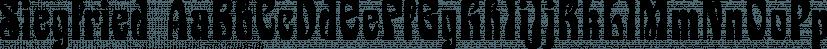 Siegfried font family by SoftMaker