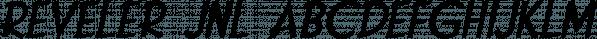Reveler JNL font family by Jeff Levine Fonts