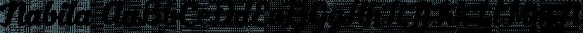 Nabila font family by Artimasa