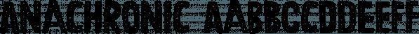 Anachronic font family by PintassilgoPrints