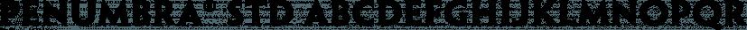 Penumbra® Std font family by Adobe