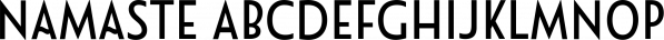 Namaste font family by Latinotype