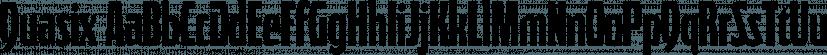 Quasix font family by Typodermic Fonts Inc.