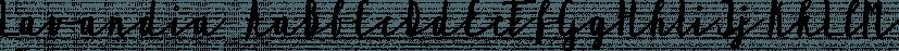 Lavandia font family by Tabitazn