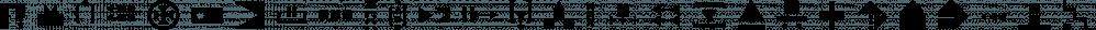 Znak Symbols 1 font family by Tour de Force Font Foundry