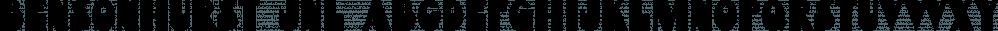 Bensonhurst JNL font family by Jeff Levine Fonts