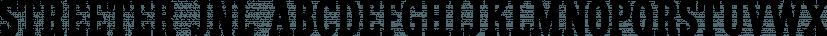 Streeter JNL font family by Jeff Levine Fonts