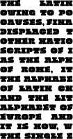 Quadratish Serif 9pt paragraph
