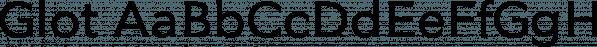 Glot font family by Wordshape