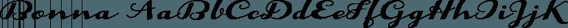 Bonna font family by Eurotypo