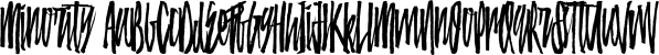 Minority font family by Aiyari
