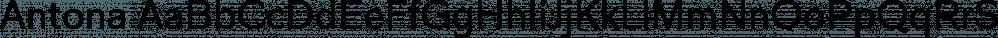 Antona font family by exljbris Font Foundry