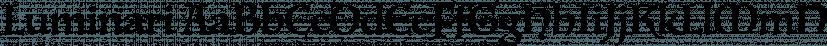 Luminari font family by Canada Type
