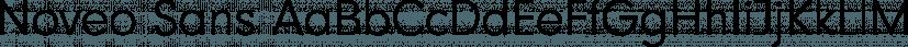 Noveo Sans font family by FontSite Inc.