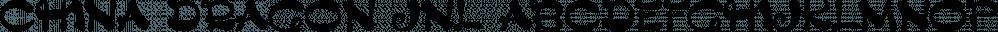 China Dragon JNL font family by Jeff Levine Fonts
