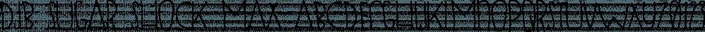 DJB SUGAR SHOCK MAX font family by Darcy Baldwin Fonts