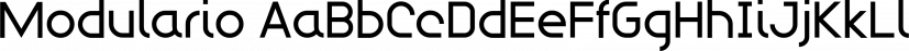 Modulario font family by K-Type