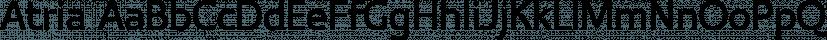 Atria font family by Aviation Partners