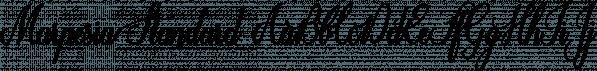 Marpesia Standard font family by Anastasia Dimitriadi