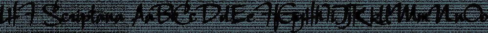 LHF Scriptana font family by Letterhead Fonts