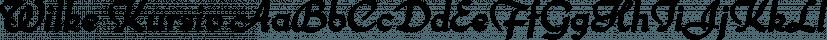 Wilke Kursiv font family by Canada Type