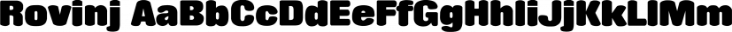Rovinj font family by SoftMaker