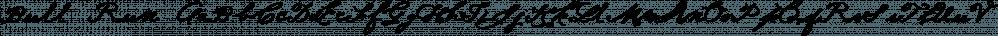 Bull Run font family by Fox Fonts