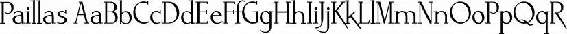 Paillas font family by Wiescher-Design