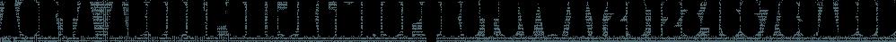 Aorta font family by Gaslight