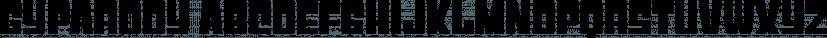 Gyparody font family by Typodermic Fonts Inc.