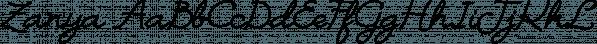 Zanya font family by Eurotypo