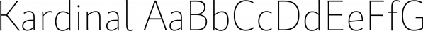 Kardinal font family by Ani Dimitrova