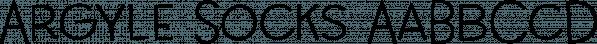 Argyle Socks font family by Missy Meyer