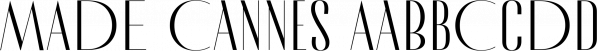 MADE Cannes font family by MadeType