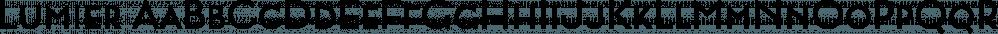 Lumier font family by Tour de Force Font Foundry