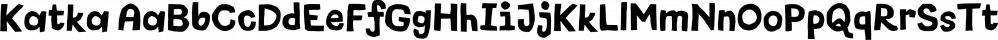 Katka font family by Flehatype
