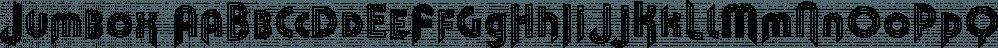 Jumbox font family by Tour de Force Font Foundry
