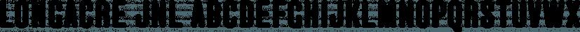 Longacre JNL font family by Jeff Levine Fonts