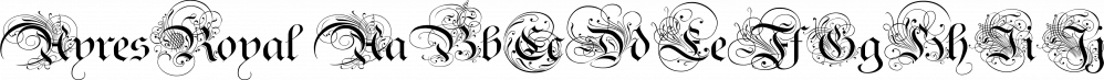 AyresRoyal font family by Wiescher-Design