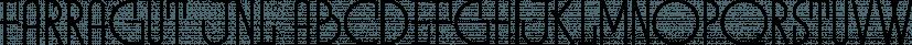 Farragut JNL font family by Jeff Levine Fonts