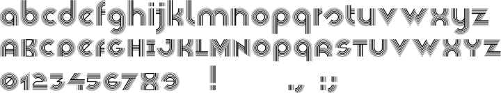 Veselka 4F Font Specimen