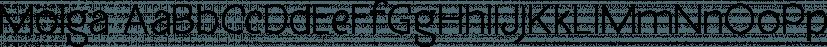 Molga font family by Creative Media Lab
