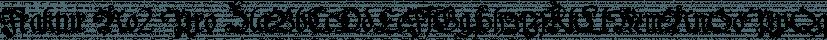 Fraktur No2 Pro font family by SoftMaker