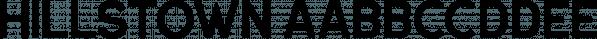 Hillstown font family by Letterhend Studio