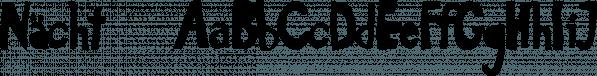 Nächt™ font family by MINDCANDY