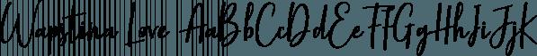 Wapstina Love font family by VType