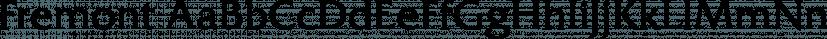 Fremont font family by FontSite Inc.